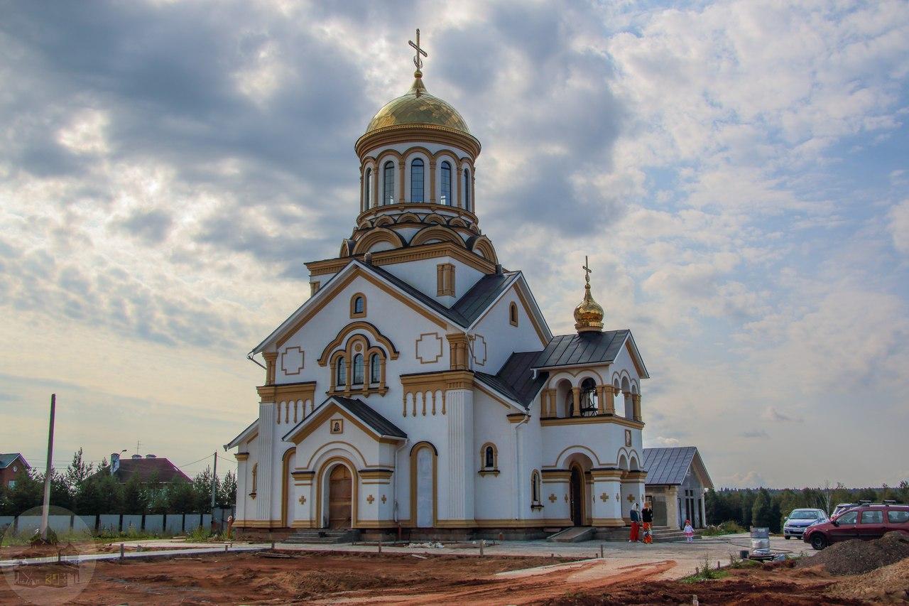 Храм святителя и чудотворца Николая мрн. Горка г. Ижевск